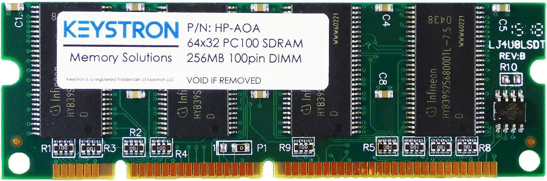 256mb 100pin Sdram Dimm For Hp Laserjet 2605 2605dn 2605dtn Printer Memory At Amazon Com