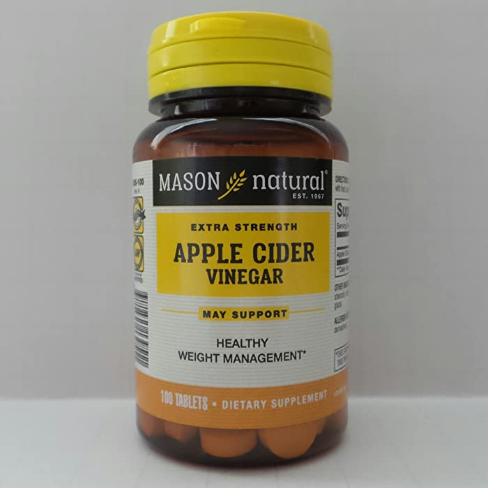 Top 5 Mason Natural Apple Cider Vinegar Plus Tablets