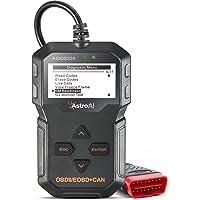 AstroAI ASIOS320 OBD2, OS320 OBD II Auto Check Engine Code Reader Car Diagnostic Tool Automotive Vehicle Scanner, Black