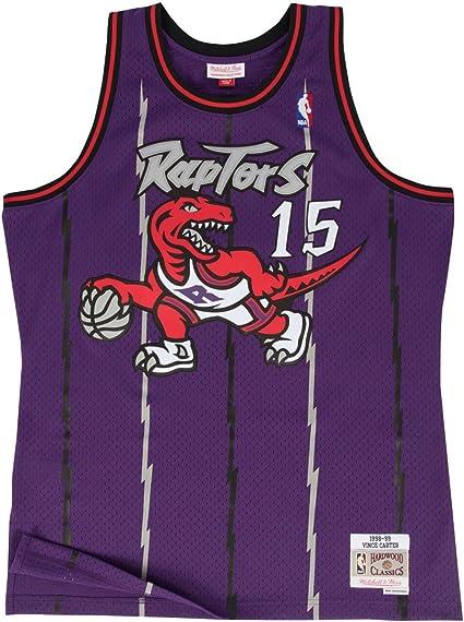 Mitchell & Ness Vince Carter Toronto Raptors Purple Throwback Swingman Jersey