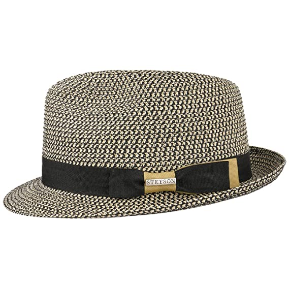 732f2bd2b78a61 Stetson Contrast Colour Toyo Trilby Hat Women/Men | Beach Summer with  Grosgrain Band Spring