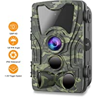 $49 » FHDCAM Trail Camera,1080P HD Wildlife Game Hunting Cam with Motion Activated Night Vision,…