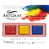 Artgraf Water Soluble Primary 3-Colour Set