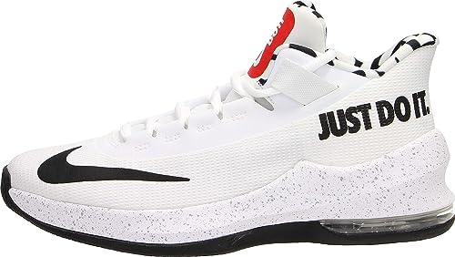 a16ac116e4 Nike Boys' Air Max Infuriate Ii JDI Gs Fitness Shoes, Multicolour (White/