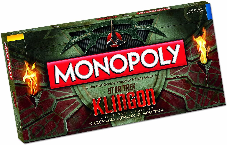 Monopoly Klingon Collectors Edition: Amazon.es: Juguetes y juegos