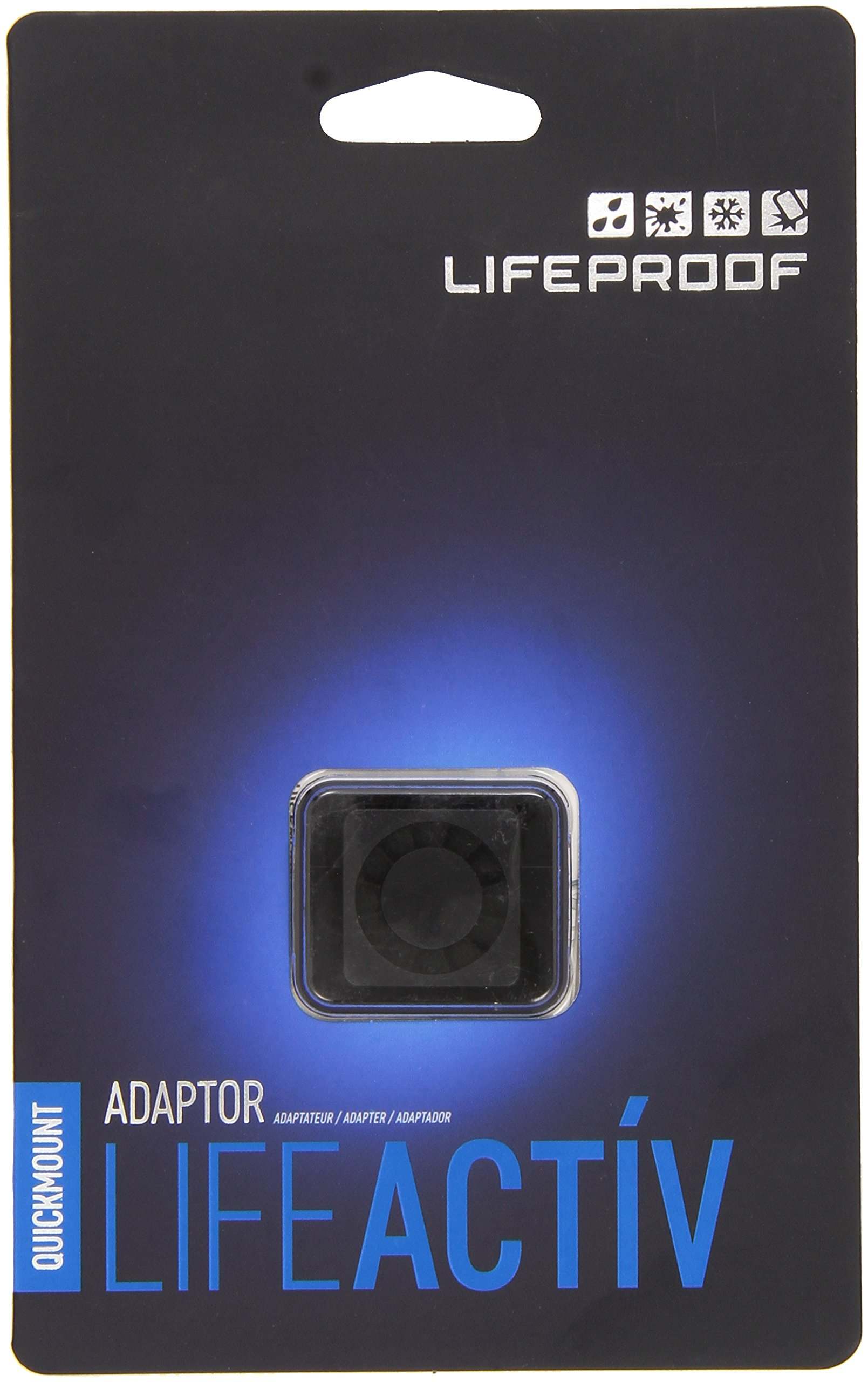 Lifeproof LifeActiv Quickmount Adapter - Mount - Retail Packaging - Black