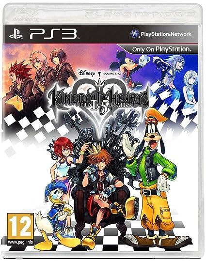 Amazon com: Kingdom Hearts 1 5 Remix Standard Edition (PS3