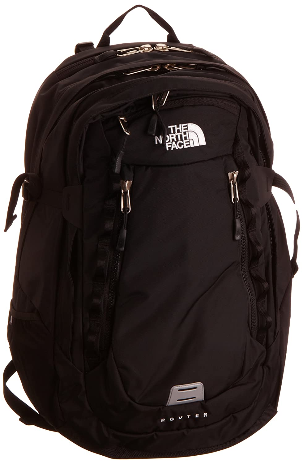 9d7d7f644 The North Face Router Laptop Backpack One Size TNF Black: Amazon.ca ...