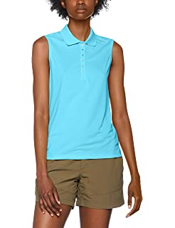 Ladies Active Polo Sleeveless im digatex-package