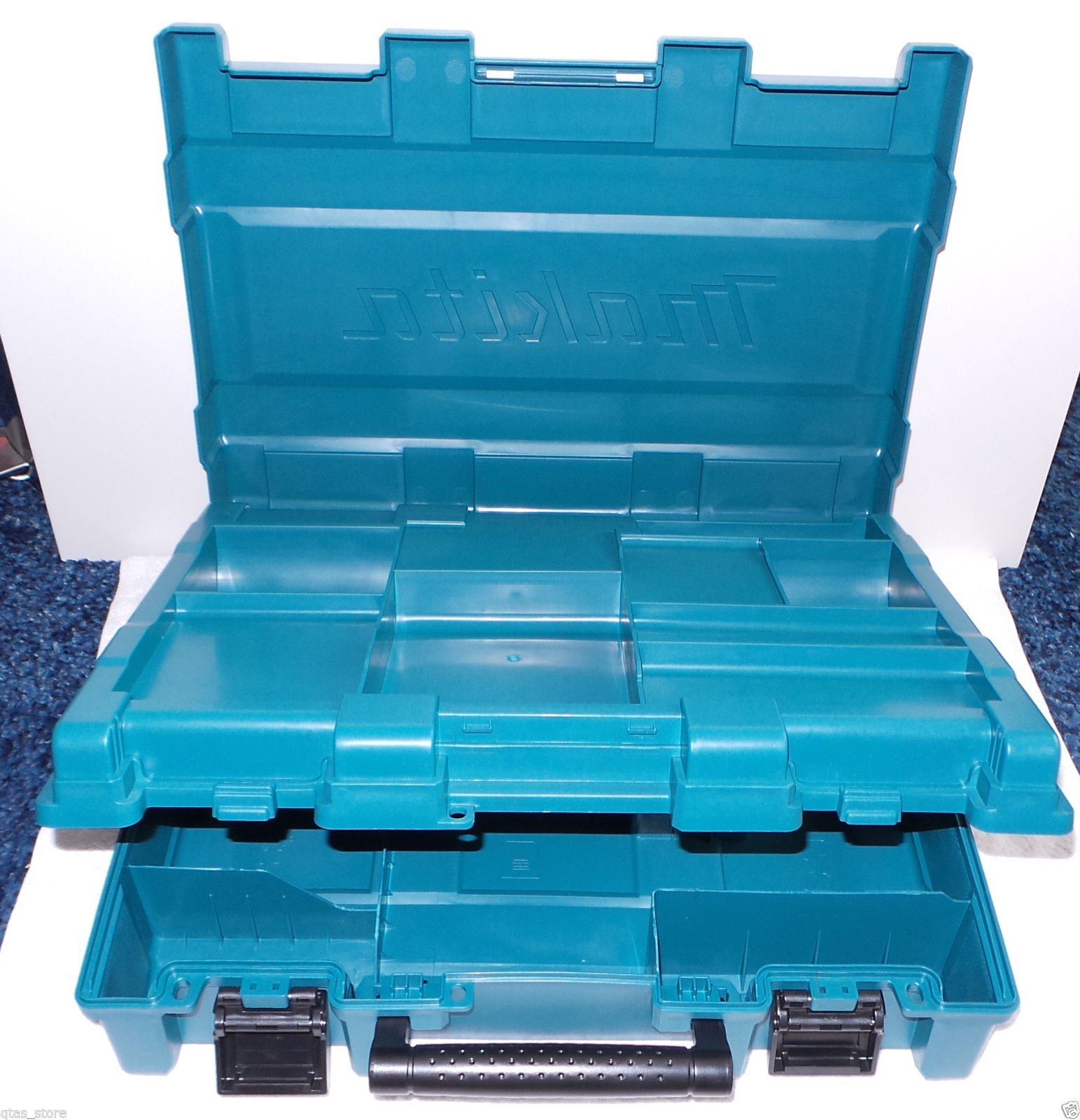 MAKITA Tool Case ONLY--XT257M / XT252M--FIT Both Drill & Impact Driver--Almost all Makita Model--XPH07Z; XDT01Z; XDT08Z; LXDT04Z; LXPH01Z; XDT04Z; And alike profile cordless tools