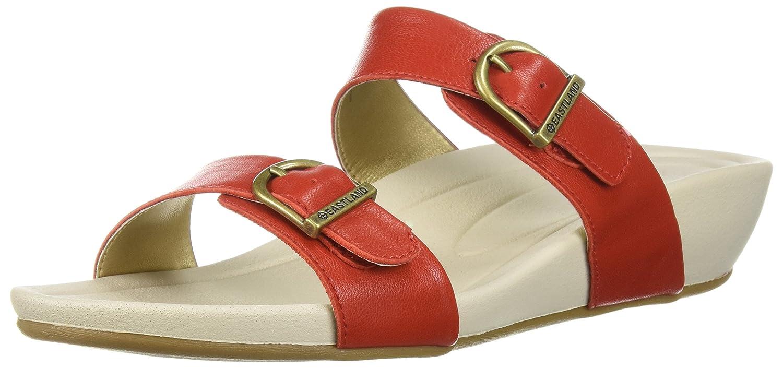 Eastland Women's Cape Ann Slide Sandal B076QLKJVC 9 B(M) US|Red