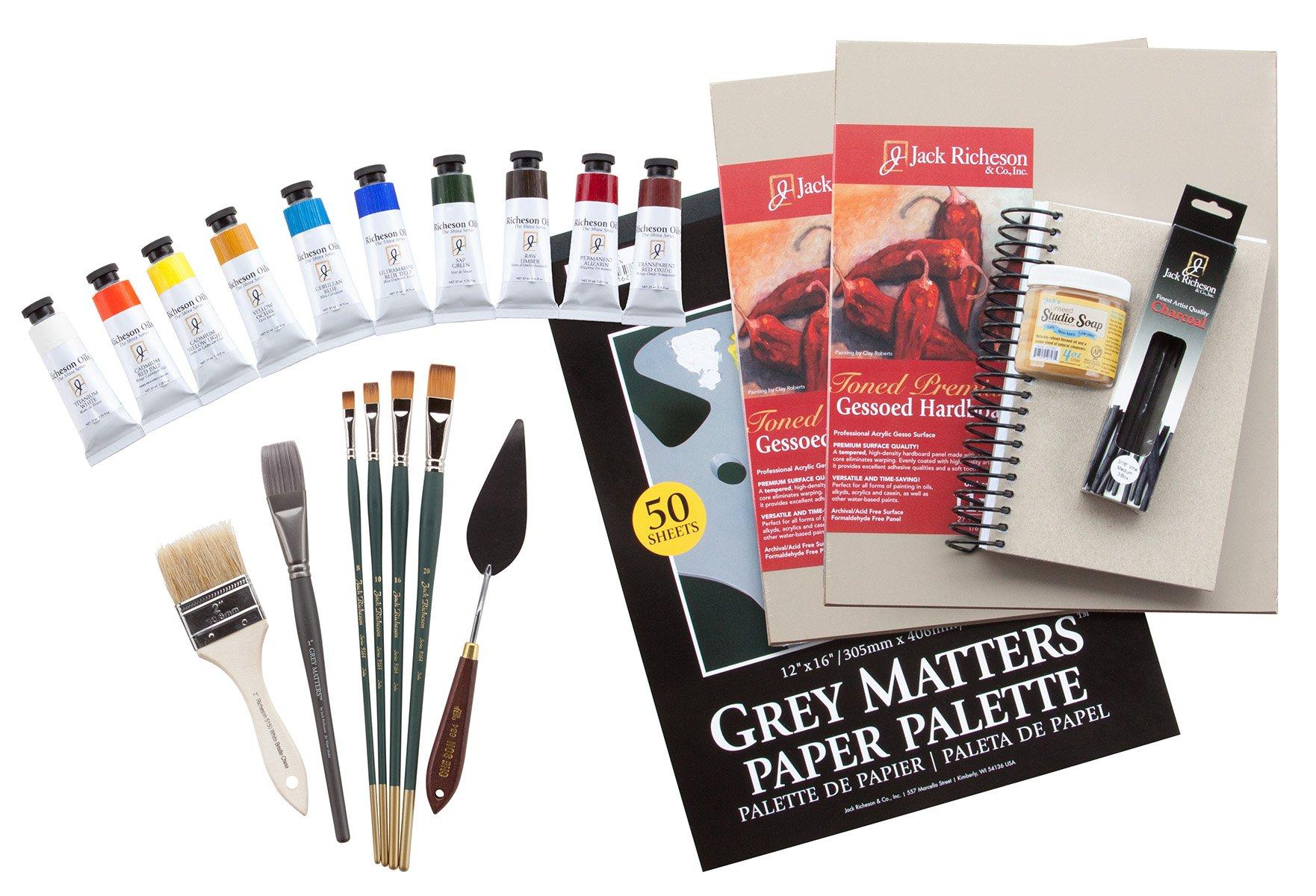 Jack Richeson TN002 Tom Nachreiner 2 Day Workshop Kit