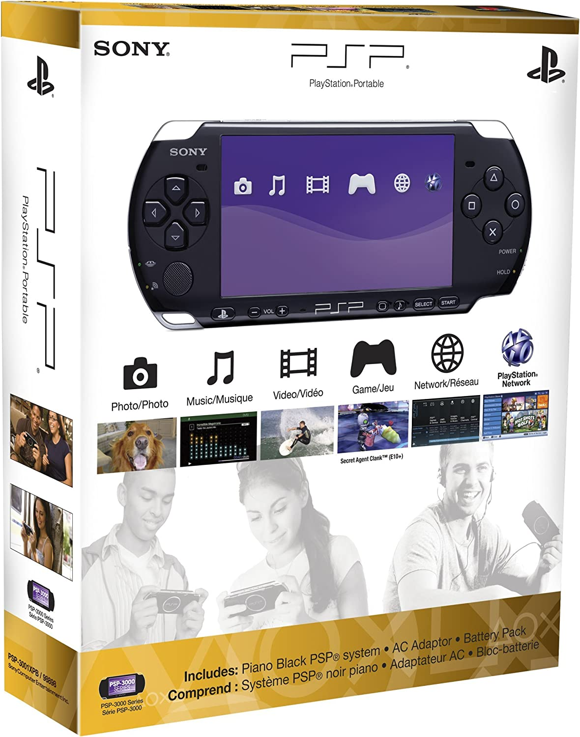 Amazon.com: PlayStation Portable 3000 Core Pack System ...
