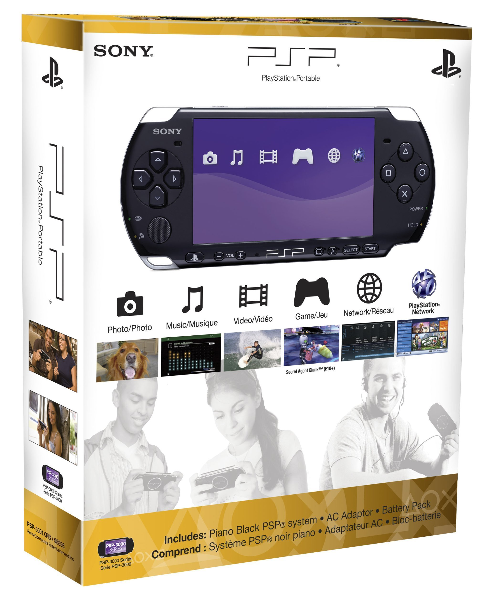 PlayStation Portable 3000 Core Pack System - Piano Black by Sony (Image #5)