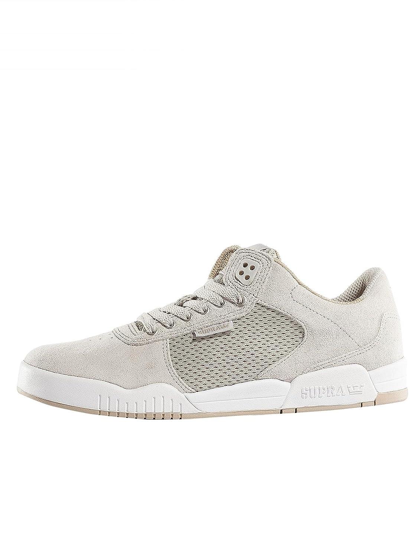 Supra - Mens Ellington Skate Shoes B01M7NPO4G 13 M US|Light Grey - White