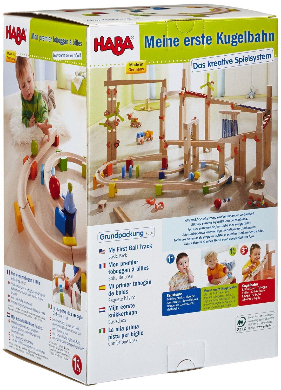Haba 8050 Meine Erste Kugelbahn Grundpackung Amazonde Spielzeug