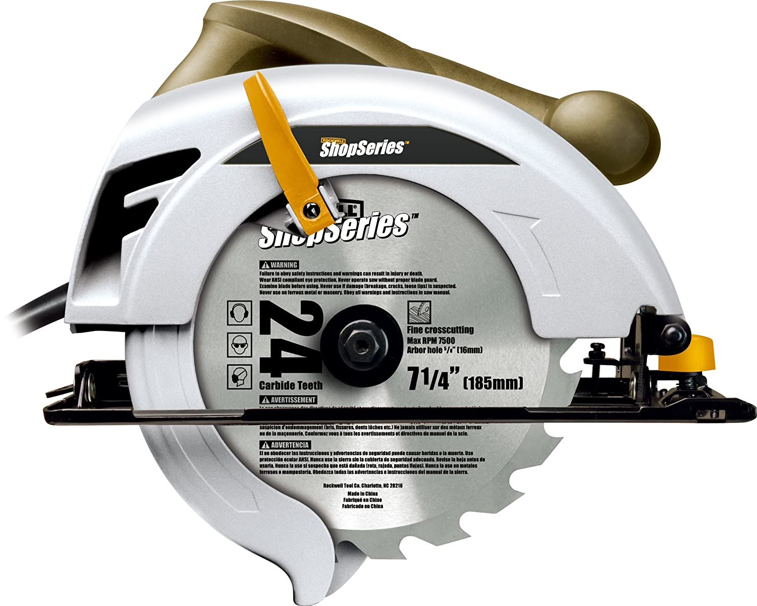 Rockwell shopseries rc3439 12 amp 7 14 inch circular saw power rockwell shopseries rc3439 12 amp 7 14 inch circular saw power circular saws amazon keyboard keysfo Image collections