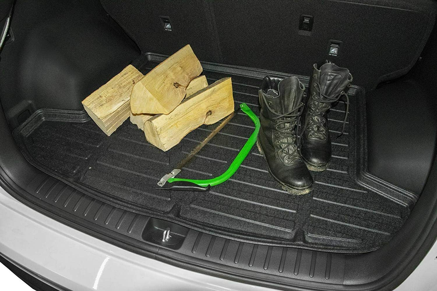 UKB4C Heavy Duty Tailored Fit Boot Liner Tray Car Mat Fits CAYENNE 2002-2010 2010-2018
