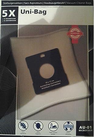 Amazon.com: 5 x universal bolsas de aspiradora – Uni Bolsa ...