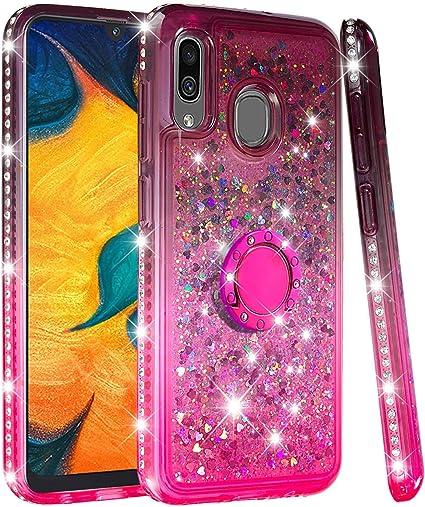 Funda Purpurina Galaxy A20 Silicona Case, Galaxy A30 Carcasa ...