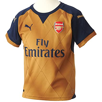 8428a2b9d80 Amazon.com : PUMA 2015-2016 Arsenal Away Football Soccer T-Shirt ...