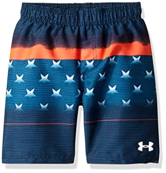 68cd23ac7481 Amazon.com  Under Armour Boys  Volley Fashion Swim Trunk  Clothing