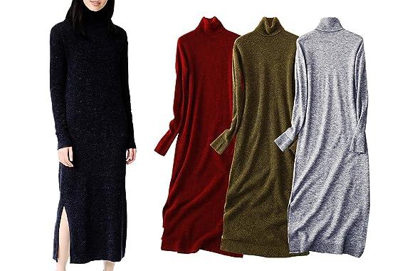 Amazon com: YIHSI Women's Tops Turtleneck Long Sleeves Slim