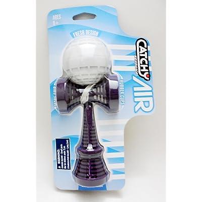 YoYoFactory Catchy Air Kendama Purple Ken with White Tama: Toys & Games