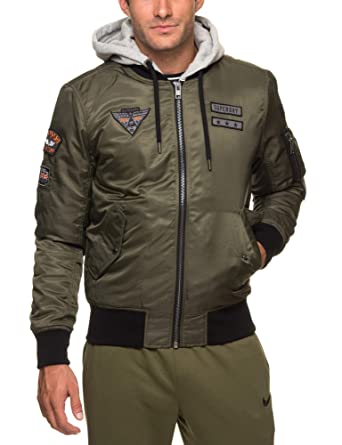 5b1abb6d6ca86b Superdry Patch Rookie, Jacket for Men: Amazon.co.uk: Clothing