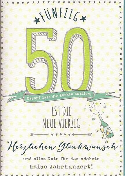 Tarjeta de felicitación para 50 cumpleaños - 50 es la nueva ...
