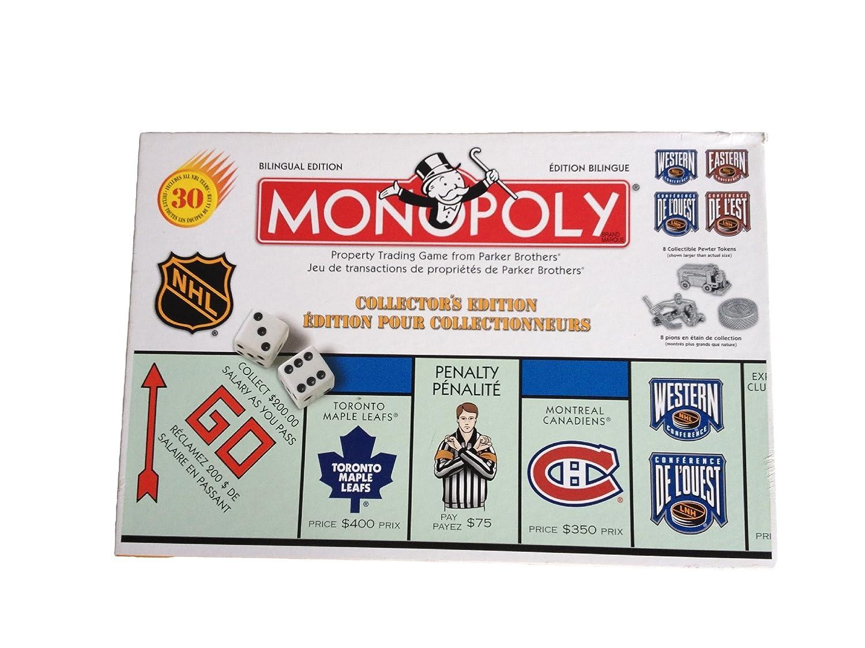 買得 Monopoly Bilingual colloctors edition colloctors Edition NHL Bilingual edition B000RL581S, おまかせオフィス:7003cceb --- arianechie.dominiotemporario.com