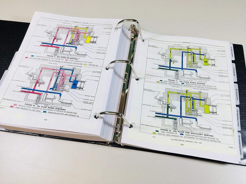 4500 ford backhoe wiring diagram amazon com ford 4400 4500 backhoe loader tractor service operator  ford 4400 4500 backhoe loader tractor