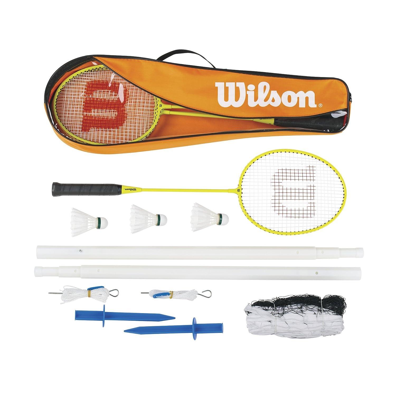 Wilson Badminton Set Wilson Sporting Goods - Team WRT8754003 WRT8754003_Orange-OS