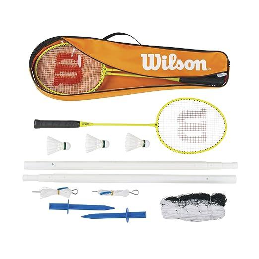 6 opinioni per Wilson Badminton Set 4PCS 3Racchetta da Badminton