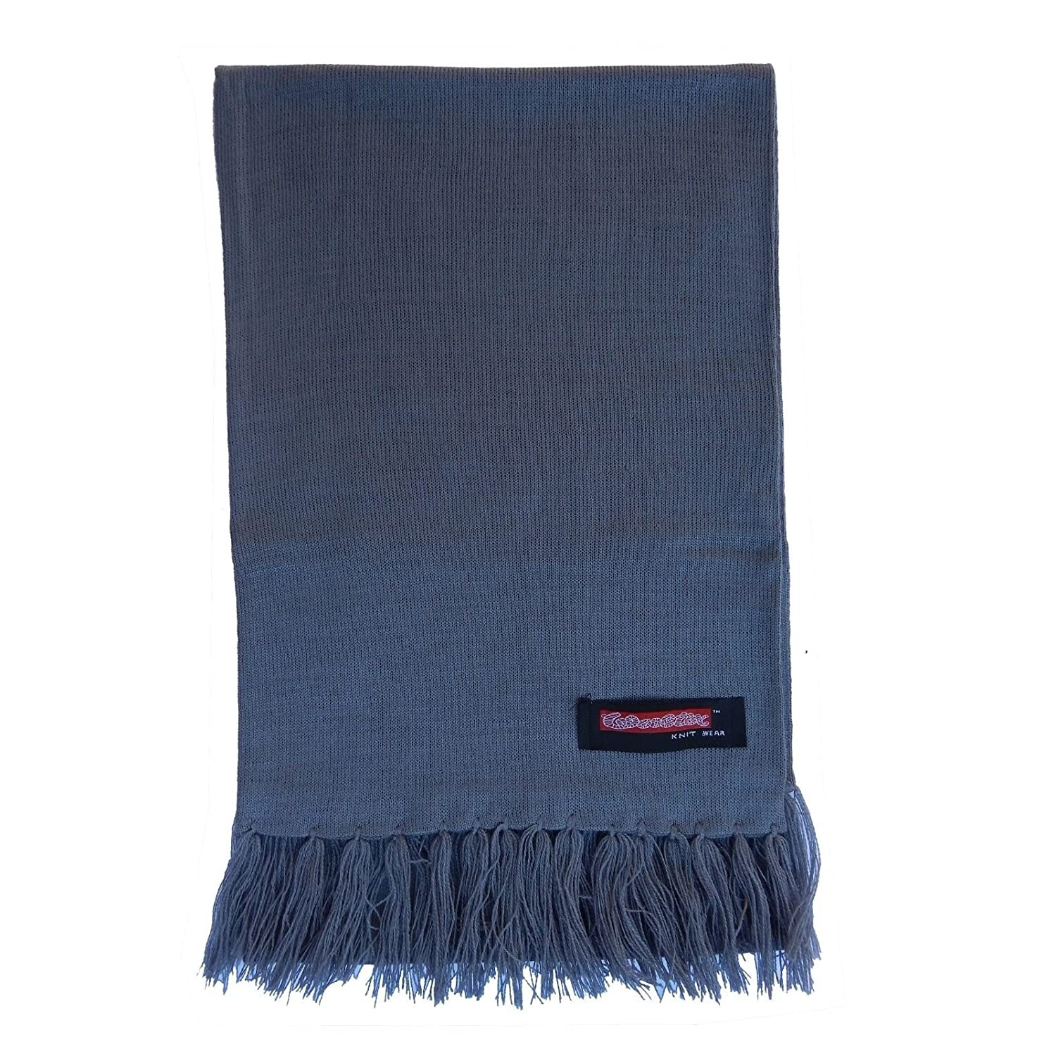 ARD CHAMPS Unisex 12X 72 New 100/% soft Solid Plain Pashmina Cashmere Scarf Warm Wool