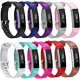 Fitbit Alta HR Bands, Henoda Replacement Silicone Band for Fitbit Alta Strap Large Small,Women Men Kids