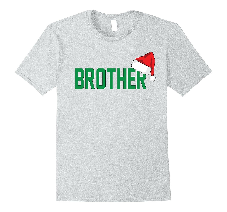 Brother Christmas Santa Family Matching Pajamas T-Shirt – Hntee.com 60449eac1