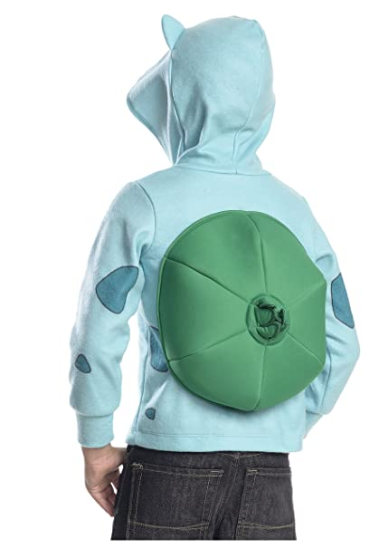 Rubies Costume Pokemon Bulbasaur Child Novelty Hoodie Costume, Large