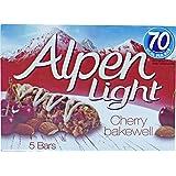 Alpen Light Cherry Bakewell Bars, 95g