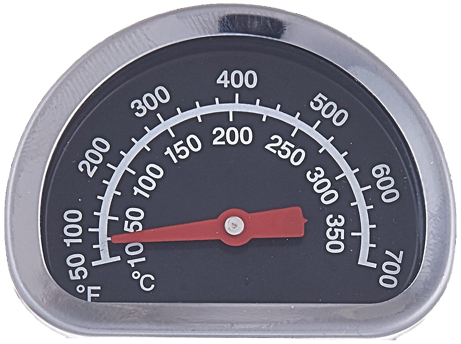 Broil King 18010 Temperature Gauge Small Size Heat Indicator Broilmate Sterling SMALL LID HEAT INDICATOR