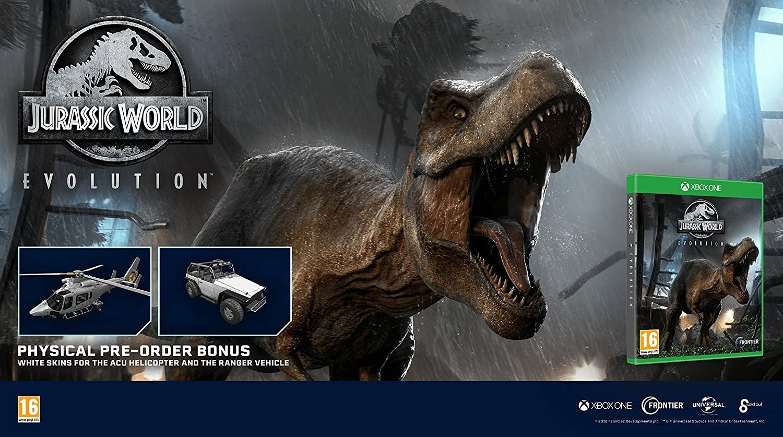 Jurassic World Evolution: Amazon.es: Videojuegos