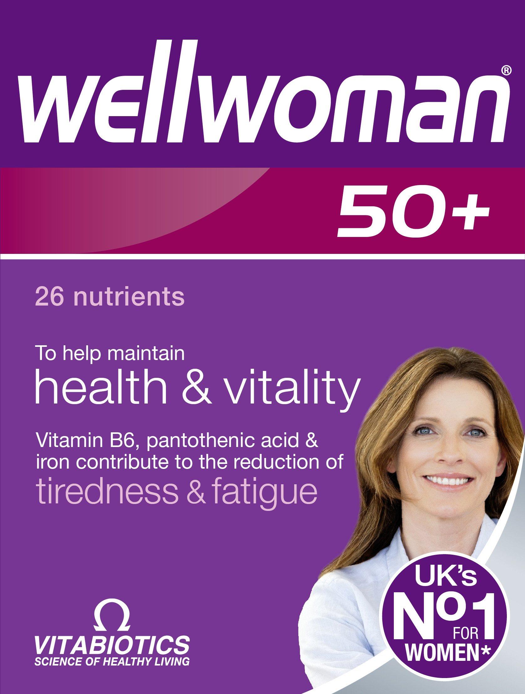 Wellwoman Vitabiotics 50+ 30 Tablets