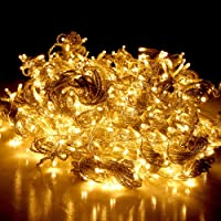 600 LED Curtain String Light Christmas Party Wedding Outdoor Fairy Lighting