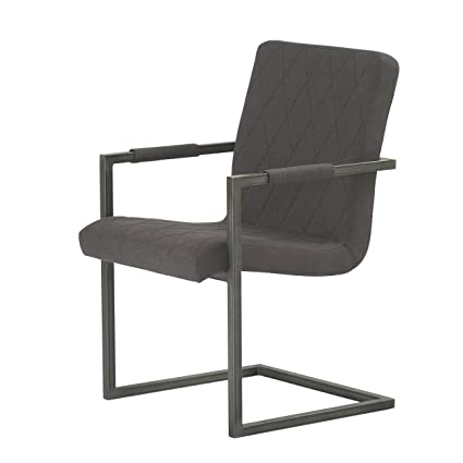 Amazon Com Modus Furniture 9ll866g Crossroads Gage Chair Charcoal