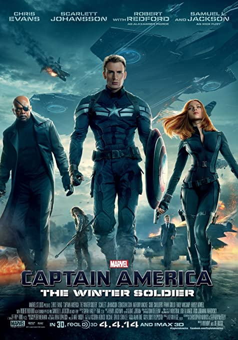 Image result for winter soldier poster