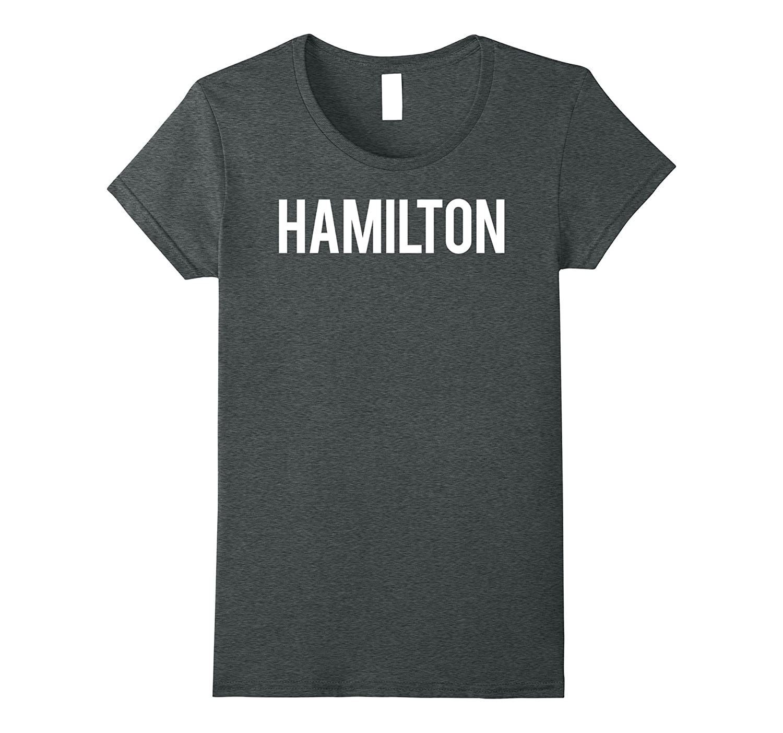 Hamilton T Shirt Cool Ohio OH city fan funny cheap gift tee