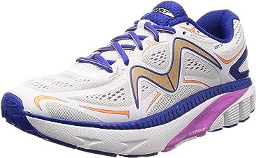 MBT Womens GT 17 Running Shoe White/Purple Mesh
