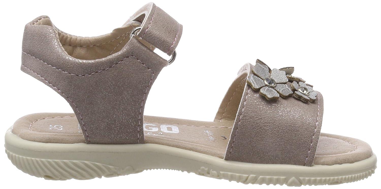 Indigo Schuhe Mädchen 382 224 Offene Sandalen, Pink (Pink), 27 EU