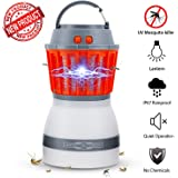 Bug Zapper Lamp-Mosquito Zapper Lamp-2-In-1 Zapper Lantern Charge Via USB-Lightweight Camping Gear & Accessories For The Outdoors & Emergencies-IP67 Waterproof-Compact- 2200mAh