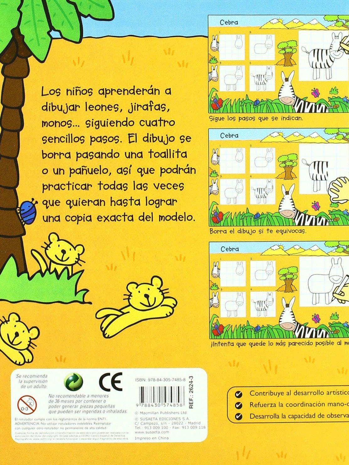Animales (¡Ya sé dibujar!): Susaeta Ediciones: 9788430574858: Amazon.com: Books